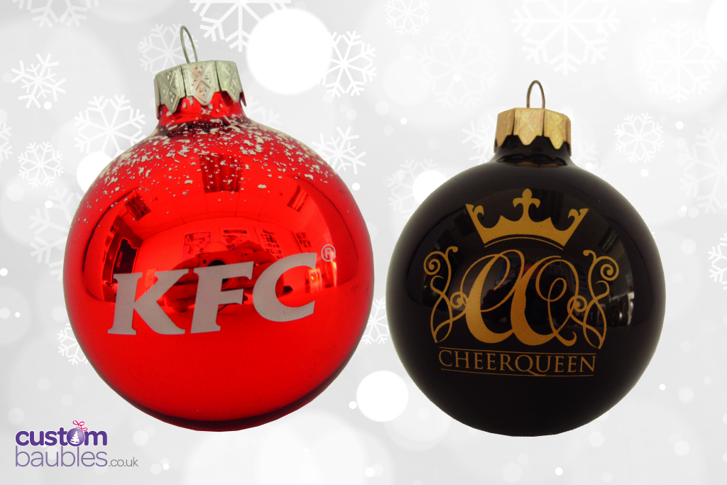 Www Custombaubles Co Uk Premium Glass Christmas Baubles Printed